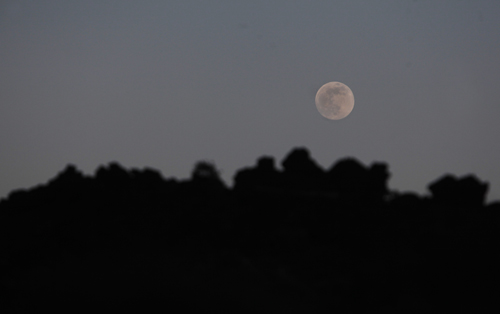 SPAIN-FULLMOON-SUPERMOON