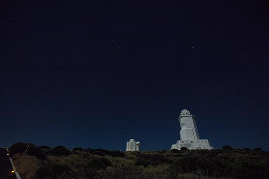 Instituto Astrofísica de Canarias, Parque Nacional de El Teide.