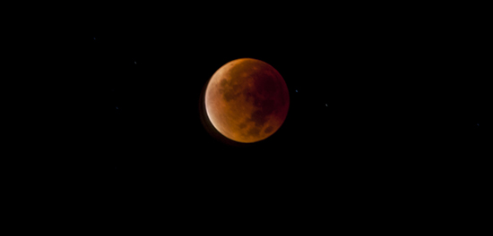 Eclipse luna total y de Sangre, septiembre 2015